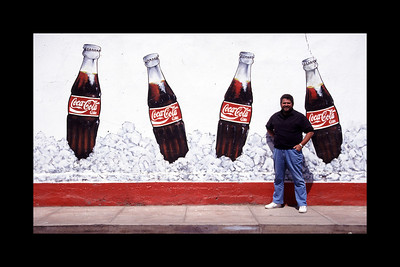 Pisco Coca-Cola Wall - Peru 1994