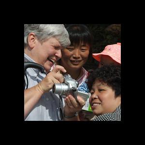 Chelle at Crossroads - Shanxi, China 2006
