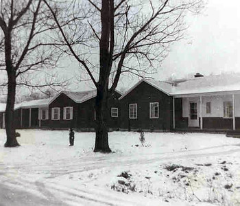 Amos Avenue - Winter 1952