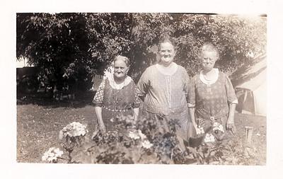 Aunt Lib, Aunt Lililian, Grandma Warfield