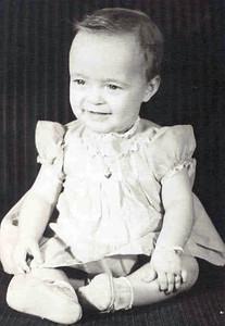 Barbara Lee Horn 10 Months 1943