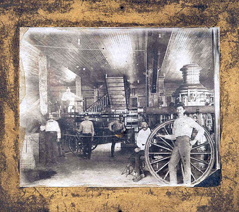 14 James B  Vollmer - Tintype in Firehouse # 1