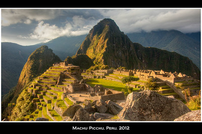 Just before sunset. Changing light at Machu Picchu makes it endlessly enchanting.