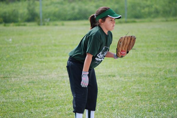 2009-06-06 Isabel's Softball Team