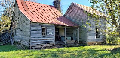 Older home on property