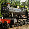 Ex Great Western railway 4-6-0 mixed traffic loco 7820 Dinmore Manor