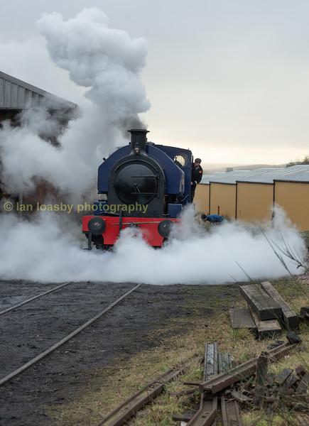 Empress takes the strain on slippery rails