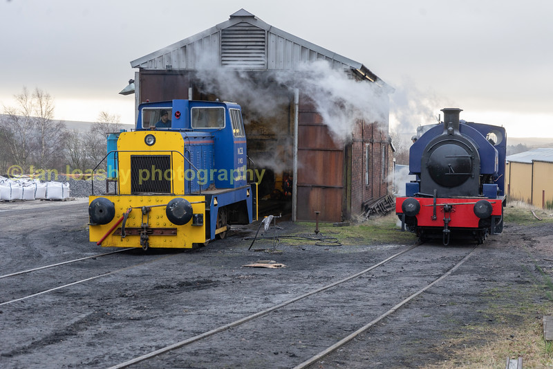 Empressis now on her train having been shunted into place by No 14,