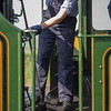 House keeping on the footplate