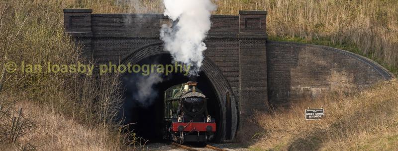 Greet Tunnel heading north