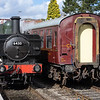 6430 runs round our train at Shacklestone