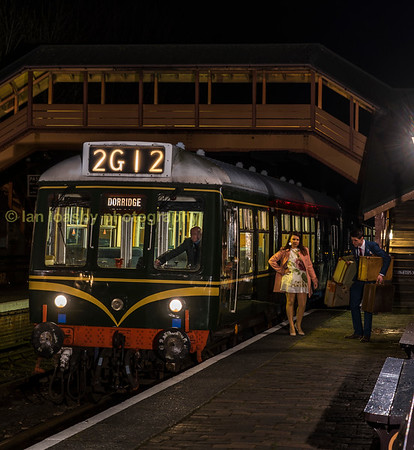 Seven valley Railway DMU shoot