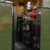 No 8's footplate