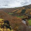 The view from pant mawr down the valley