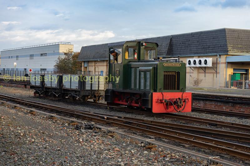 No 10 in Aberystwyth  yard