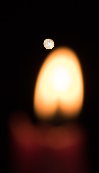 Day 25 – The Moon and The Candle