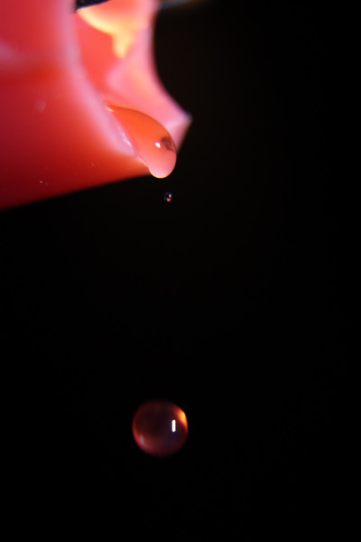 Day 17– Anatomy of a Wax drop #3 – Falling