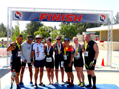 30th Annual Tin Man Triathlon CSUSB Campus, San Bernardino CA June 26, 2016
