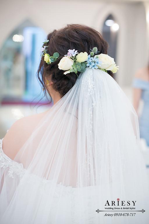 鮮花新娘秘書,鮮花新秘推薦,愛瑞思 ,ARIESY,台北青青戶外婚禮,美式婚禮證婚