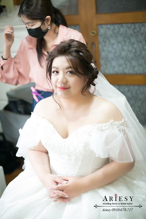 新娘秘書,新秘推薦,愛瑞思 ,ARIESY,歐美編髮線條,迎娶造型