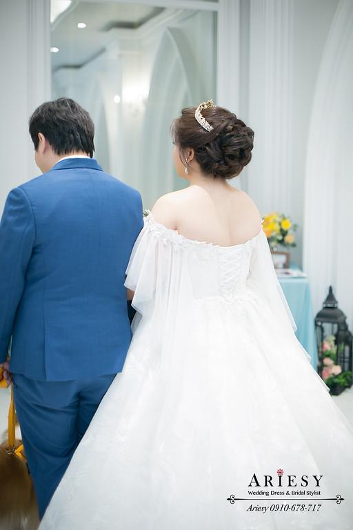皇冠造型,新娘秘書,新秘推薦,愛瑞思 ,ARIESY,台北青青戶外婚禮