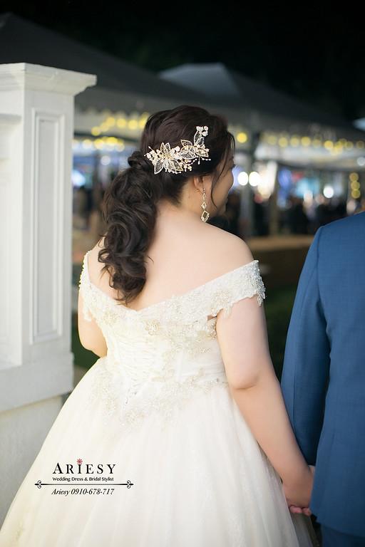 馬尾造型,婚禮跳舞,新娘秘書,新秘推薦,愛瑞思 ,ARIESY,台北青青戶外婚禮