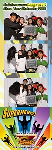 3/17/17 Vista Magnet MS Photo Booth Photo Strips