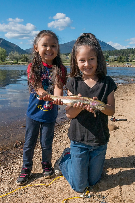 . 31st Annual Estes Lake Fishing Derb Two_girls_fishing_derby_2017_5