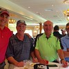 From left, Scott Neri of Worcester, David Griswold of Austin, Texas, Art DeMoulas of North Andover and Jack Tatelman of Marblehead