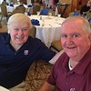 Former New England Patriot Tom Yewic of Arlington and Fran Ferrara of Andover