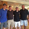 From left, Scott Lee of Reading, Chris Dowd of Methuen, Mike Williams of Salem, New Hampshire, and Ed Stec of Westboro