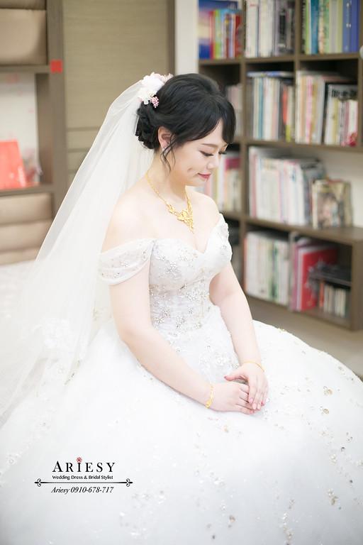 新娘秘書,新秘推薦,白紗迎娶造型,黑髮新娘造型,台北新秘愛瑞思
