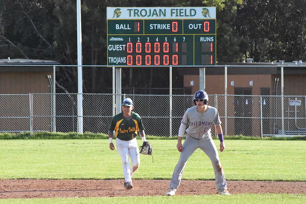 3/23/18 Piedmont vs. Castro Valley, win 2-1