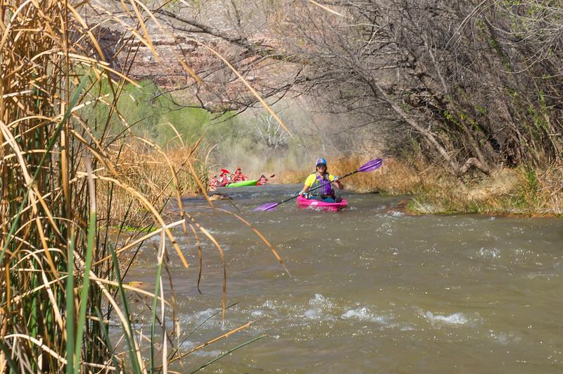 Verde River Institute Float Trip, Tapco to Tuzi, 3/30/18