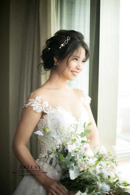 日系新娘髮型,日系新娘造型,ARIESY,愛瑞思,台北新秘推薦,新娘秘書