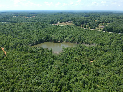 342 Wooded Acres with Lake on US-58 near Danville, VA
