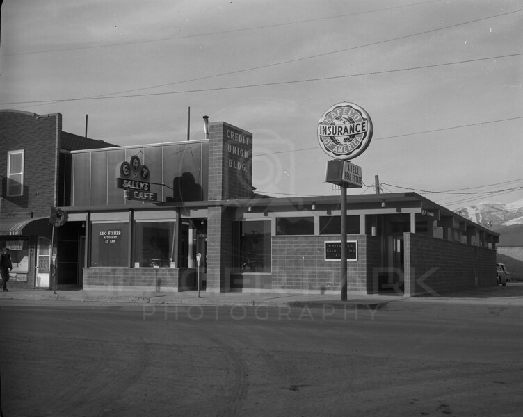 Whitefish Credit Union 1960<br /> Lacy Photo<br /> 0120-6349