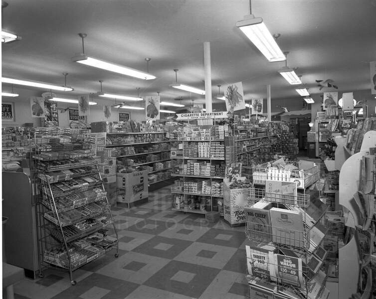 Inside Markus Foods Whitefish 1957