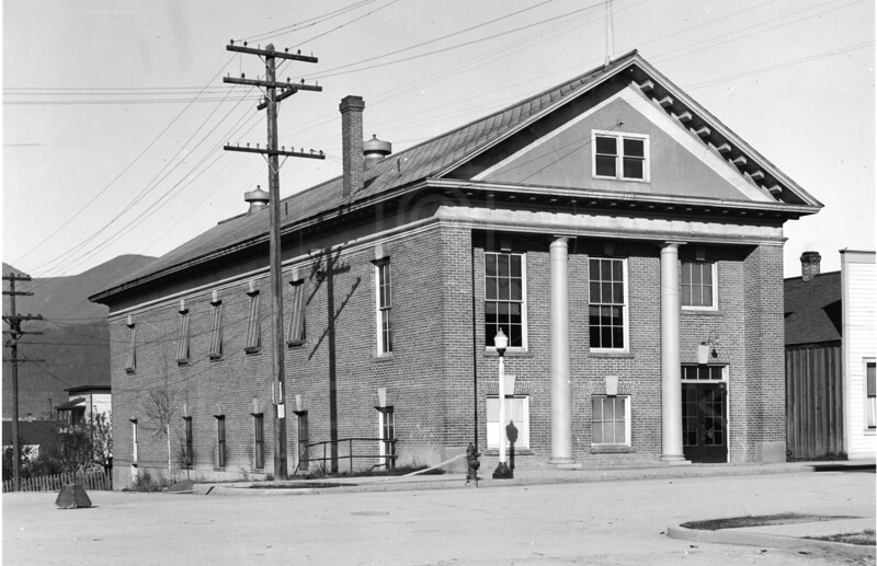 Masonic Temple 1920's<br /> RE Marble Photo<br /> MA-0184