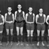 Whitefish High School Basketball Team 1920's<br /> RE Marble Photo<br /> MA-0214A