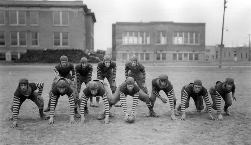 WHS Football Team 1920's<br /> RE Marble Photo<br /> MA-0214E