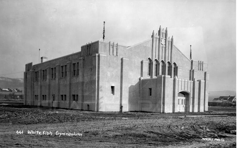 Whitefish Gymnasium 1920's