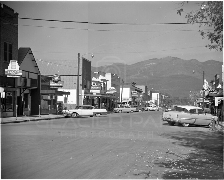 Central Avenue also known as Main Street - 1958<br /> Lacy Photo<br /> 0038-6179