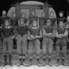 Whitefish High School Football Team 1920's<br /> RE Marble Photo<br /> MA-0214B
