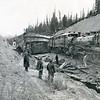 Train Wreck Lupfer, Whitefish, Montana