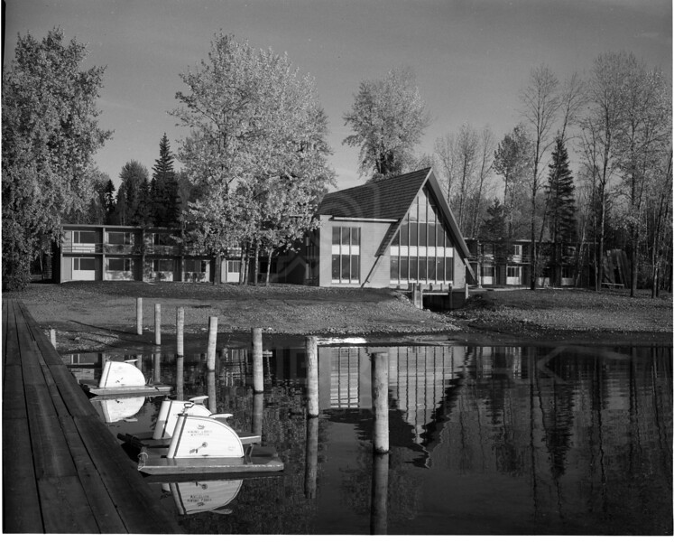 Viking Lodge on Whitefish Lake<br /> Built by Sverre Askevold June 1964<br /> 42 units with two restaurants Sauna and a swimming pool<br /> 0018-6538