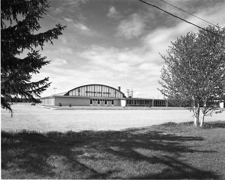 New Whitefish High School 1956