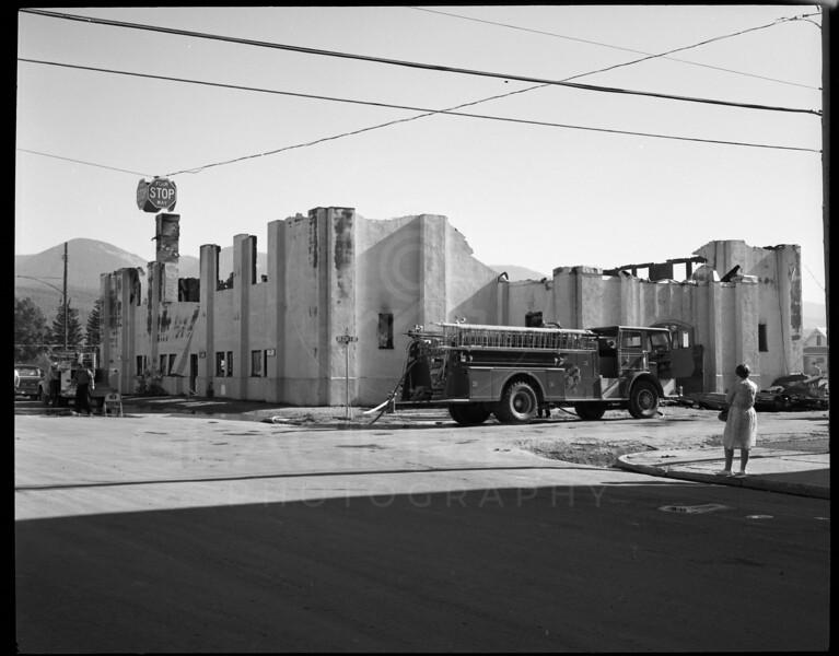 Whitefish High School Gym Fire 1971