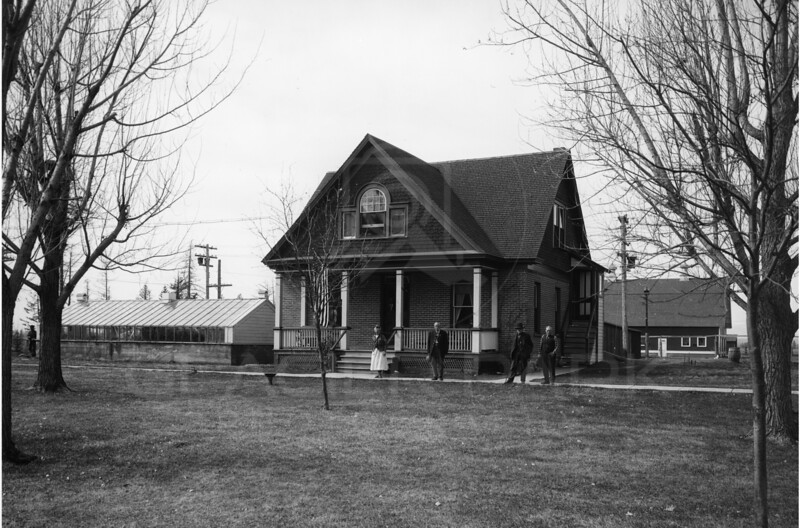 Swede Hori Ranch House - 1920's<br /> R.E.Marble Photo<br /> MA-0158