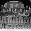Whitefish High School Football Team 1920's<br /> RE Marble Photo<br /> MA-0214D